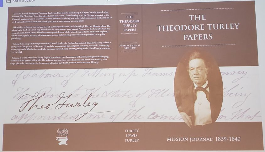 Theodore Turley Papers